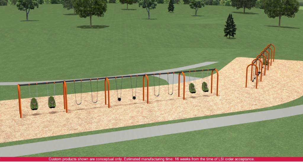 SwingSets Pond Overlook Playground1
